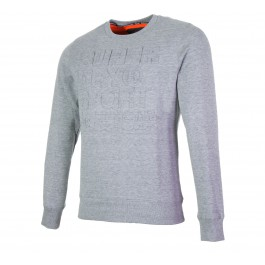 Superdry  Tech Embossessed Crew grijs