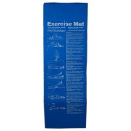 Tunturi  Aerobic Fitnessmat blauw - rood