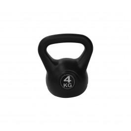 Tunturi PE Kettlebell 4KG zwart - grijs