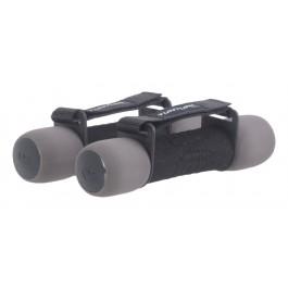 Tunturi Soft Dumbbells 1KG zwart - grijs - rood