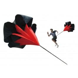Tunturi Speed Parachute zwart - rood