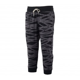 Under Armour  Charged Cotton Triblend Printed Capri grijs - zwart