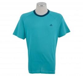 Adidas  Essentials Crew T-shirt Heren groen