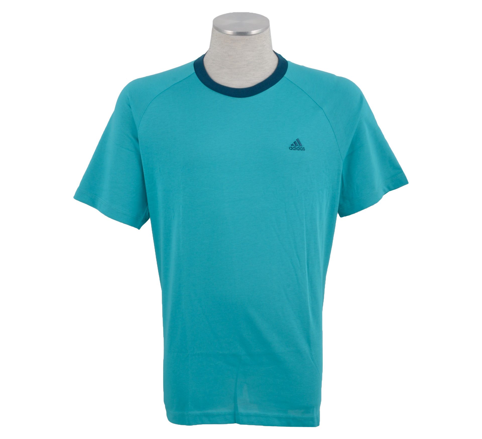 Adidas  Essentials Crew T-shirt Heren groen