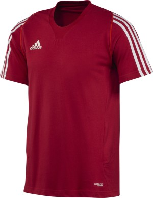 Adidas T12 Climalite Team T-Shirt - Heren - Rood