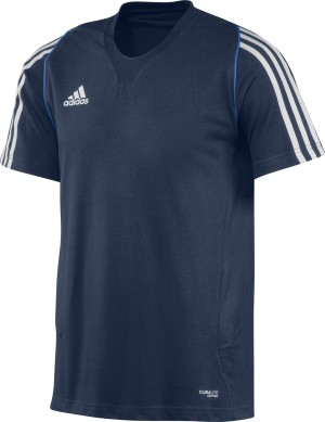Adidas T12 Climalite Team T-Shirt - Heren - Blauw