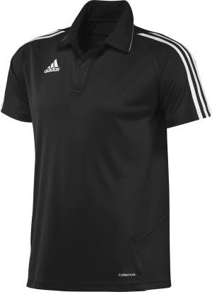 Adidas T12 Team Polo - Heren - Zwart