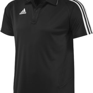 Adidas T12 Team Polo - Heren - Zwart