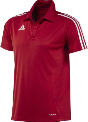 Adidas T12 Team Polo - Heren - Rood