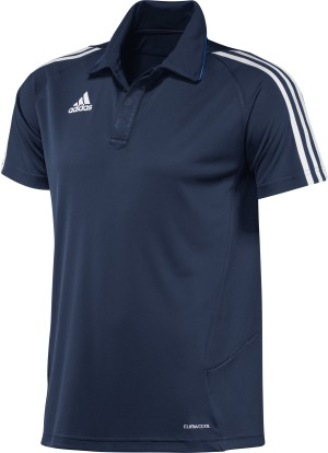 Adidas T12 Team Polo - Heren - Blauw