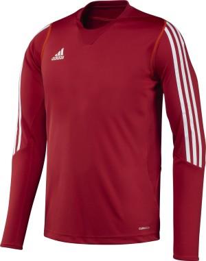 Adidas T12 Team Lange Mouwen T-Shirt - Heren - Rood