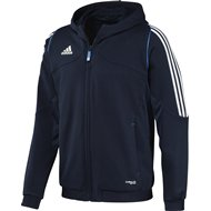 Adidas T12 Team Hoody - Heren - Blauw