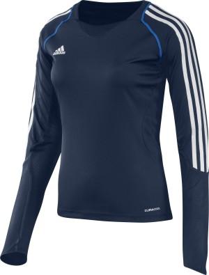 Adidas T12 Team Lange Mouwen T-Shirt - Dames - Blauw