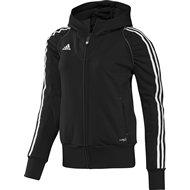 Adidas T12 Team Hoody - Dames - Zwart