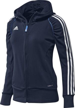 Adidas T12 Team Hoody - Dames - Blauw