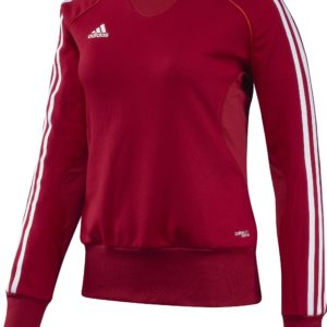 Adidas T12 Team Sweater - Dames - Rood