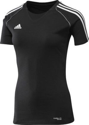 Adidas T12 Climalite Team T-Shirt - Dames - Zwart