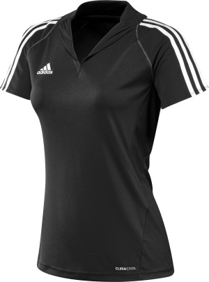 Adidas T12 Team Polo - Dames - Zwart