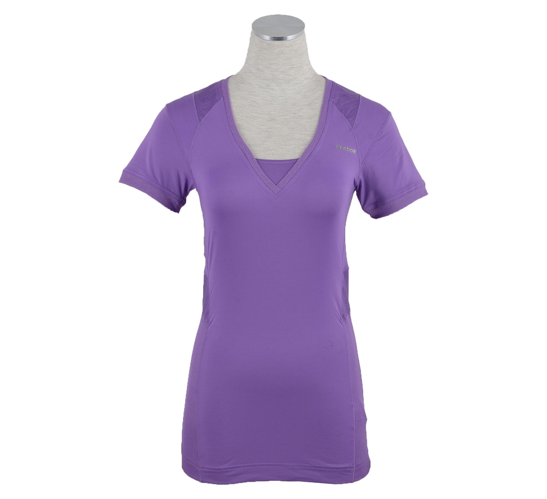 Reebok EasyTone T-Shirt Dames paars