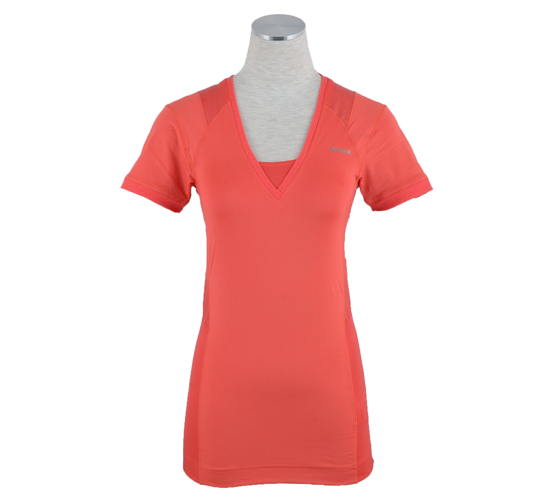 Reebok EasyTone T-Shirt Dames rood