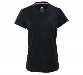 Adidas  Essentials Tee Dames zwart