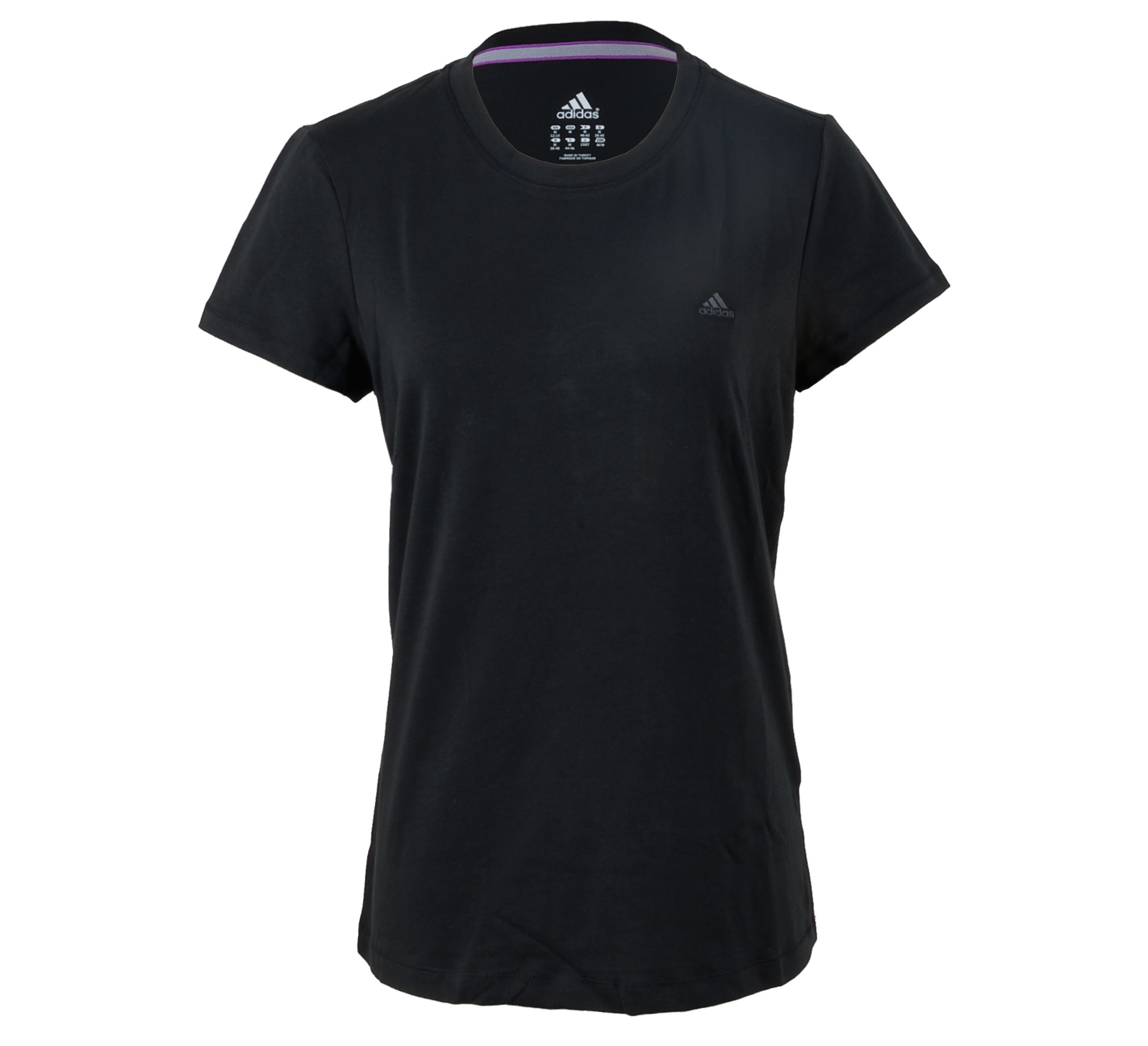Adidas Essentials Tee Dames zwart