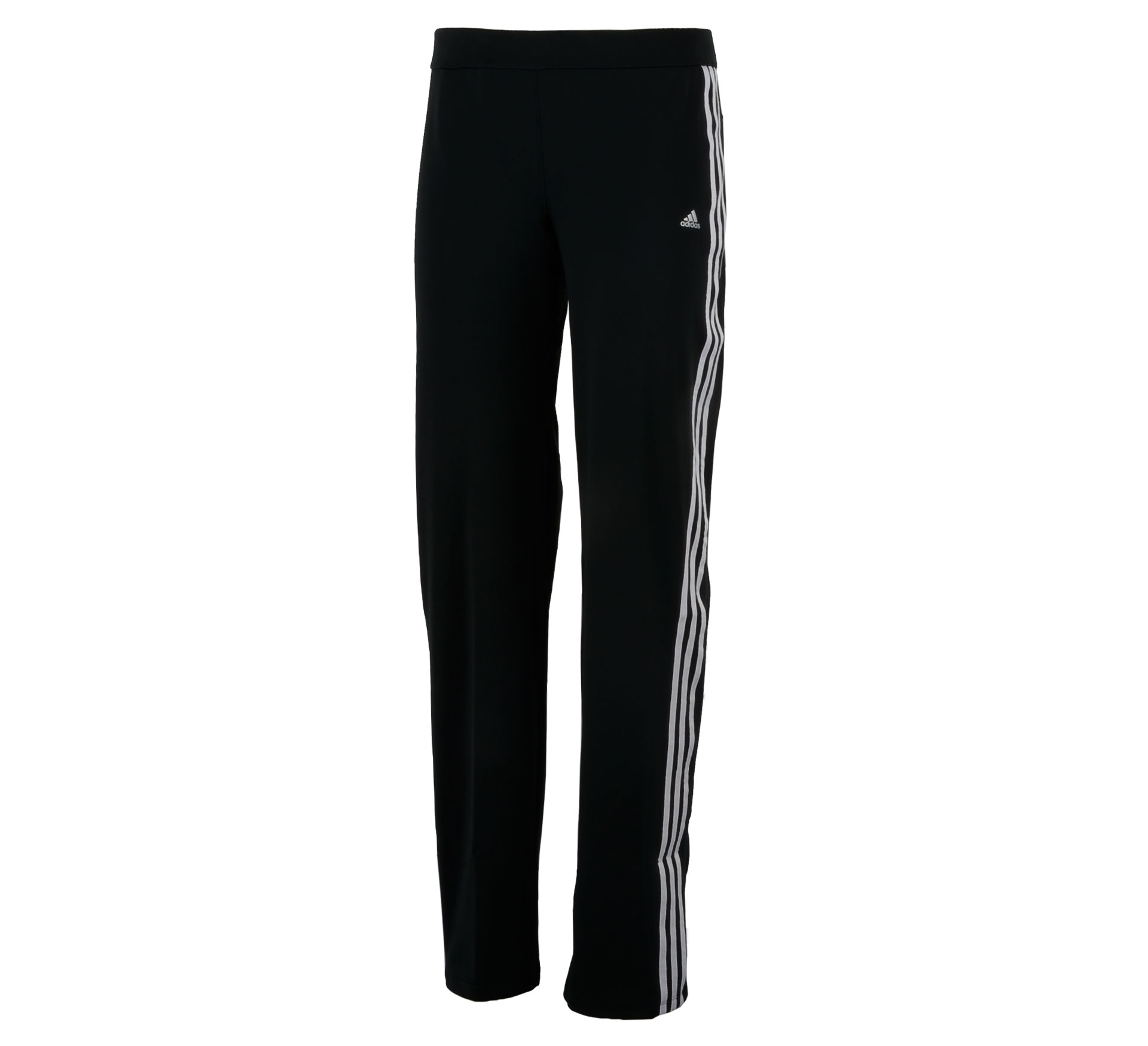 Adidas  CCT Core Straight Fitnessbroek Dames zwart - wit