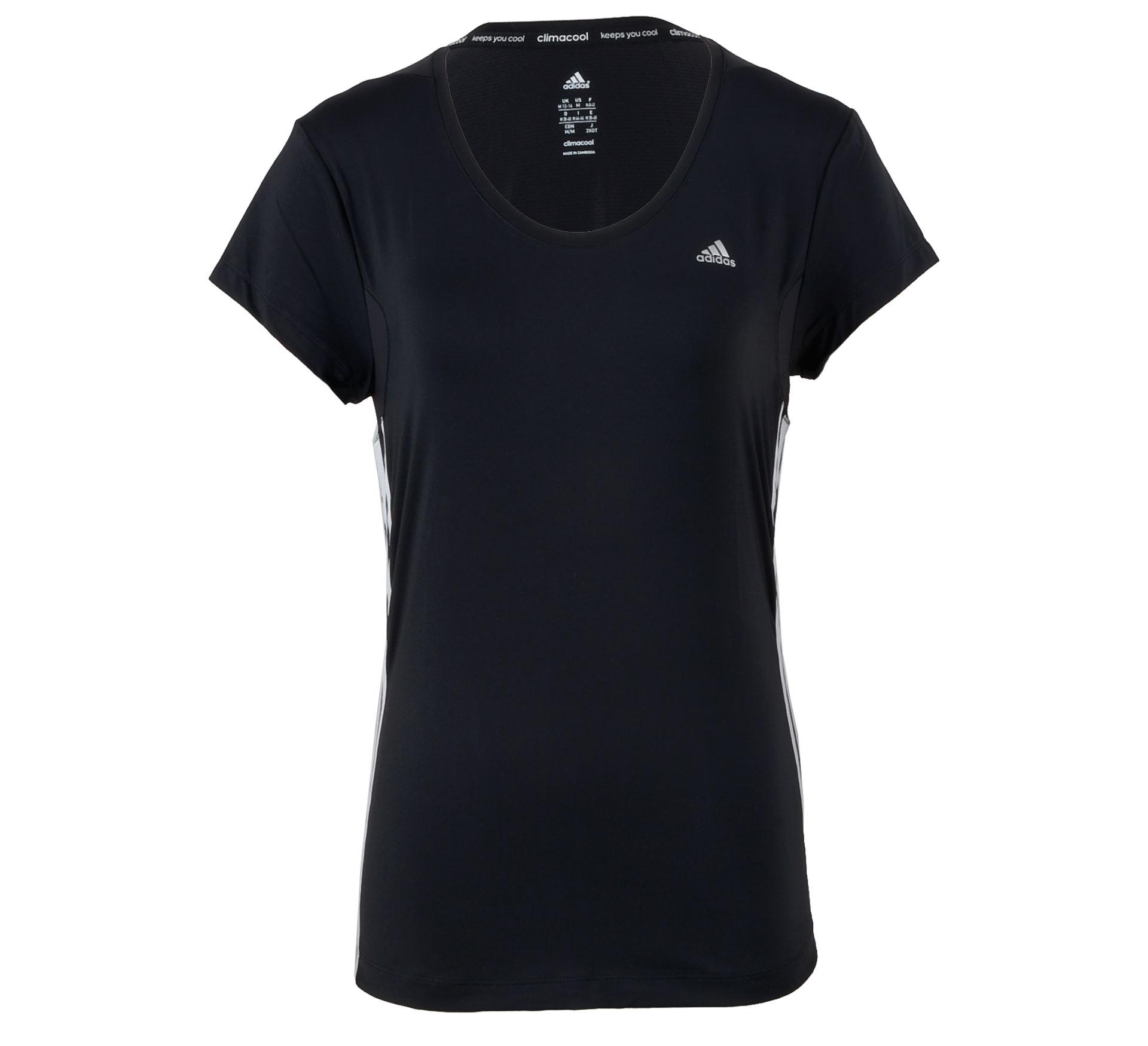 Adidas CCT Core T-shirt Dames zwart - wit