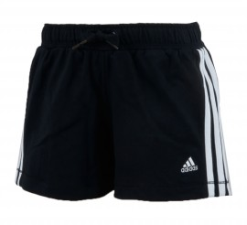 Adidas  Essentials Short Junior zwart - wit