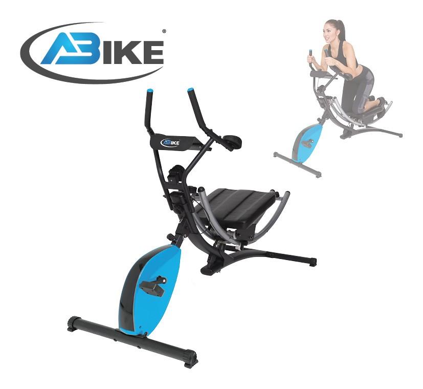 Ab Bike Buikspiertrainer - Hometrainer - Verpakking beschadigd