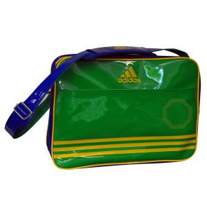 Adidas Shiny Sporttas - Groen/Blauw/Geel