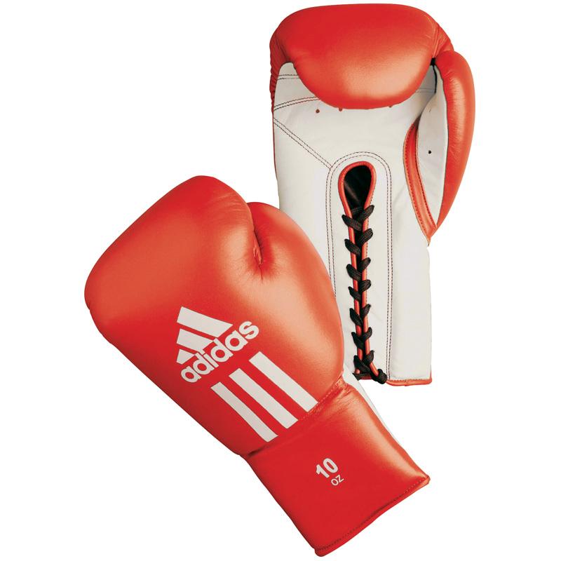 Adidas Glory Professional (kick)Bokshandschoenens -8oz - Rood/Wit