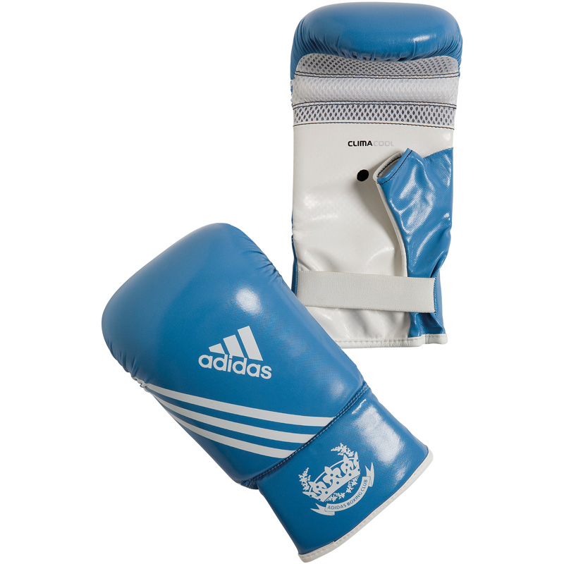Adidas  Fitness Zakhandschoenen - Blauw/Wit
