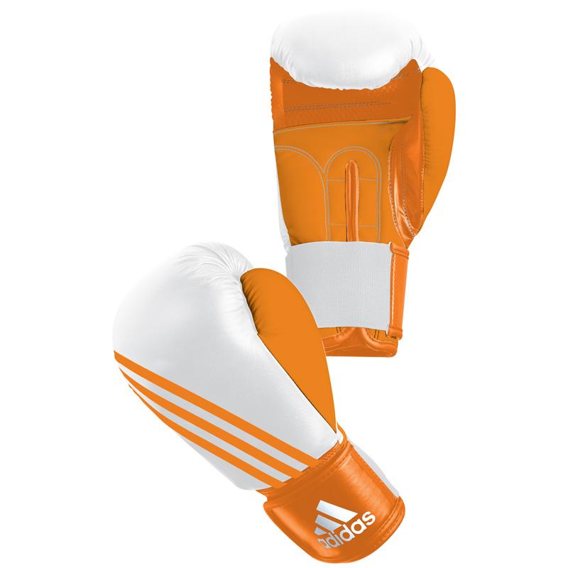 Adidas  Boxfit Climacool Bokshandschoen - Oranje/Wit