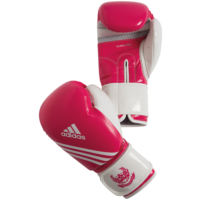 Adidas Fitness (kick)Bokshandschoenen - Paars/Wit