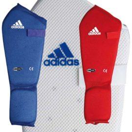 Adidas Microlight Scheenwreefbeschermer - Blauw