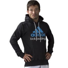 Adidas  Community Junior Kickboxing Hoodie - Zwart/Blauw
