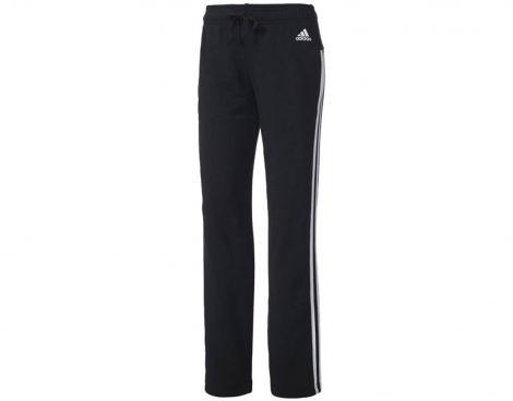 adidas Essentials 3-Stripes Pant Open Hem