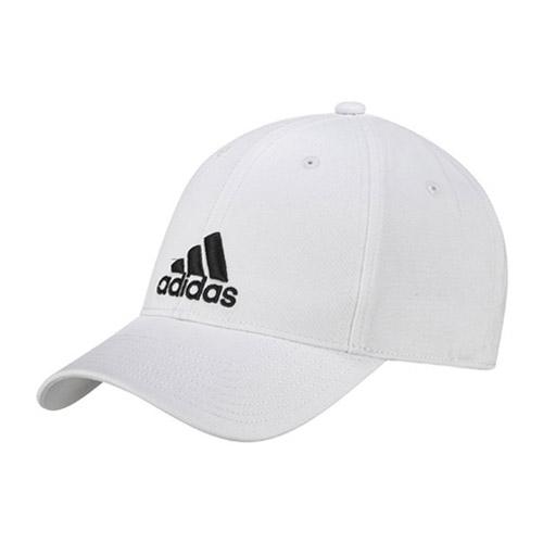 Adidas Classic Six-Panel cap unisex wit/zwart