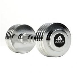 Adidas  Dumbbell Set 5 kg Chrome