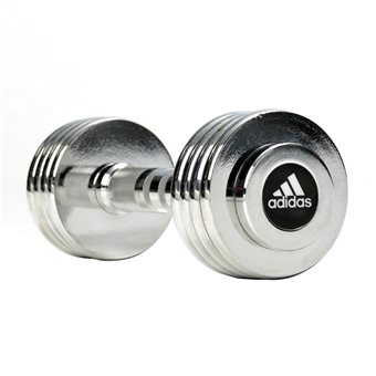 Adidas  Dumbbell Set 5 kg Chrome