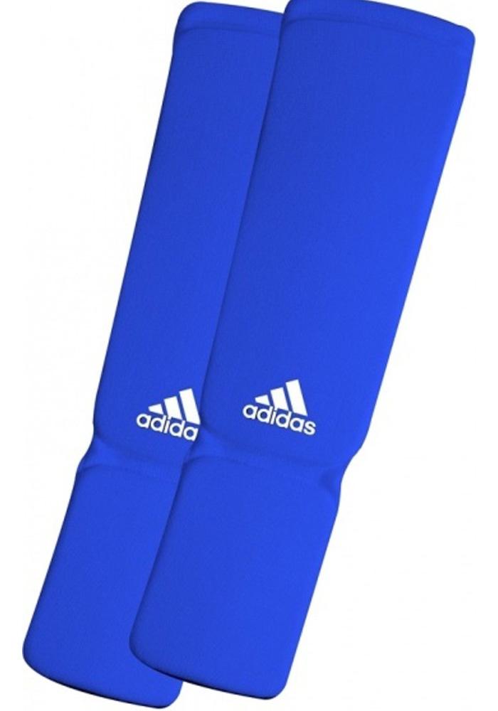 Adidas Elastische Scheenbeschermer - Blauw - XL