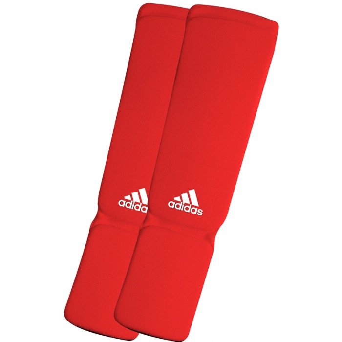 Adidas Elastische Scheenbeschermers - Rood - L
