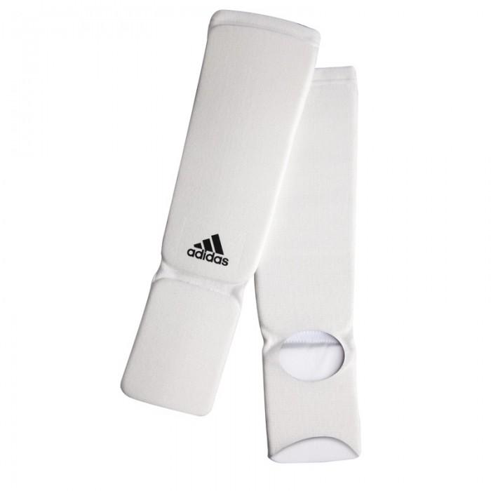 Adidas Elastische Scheenbeschermers - Wit - L
