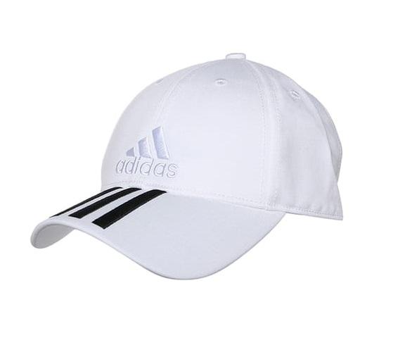 Adidas 3S cap cotton unisex wit/zwart