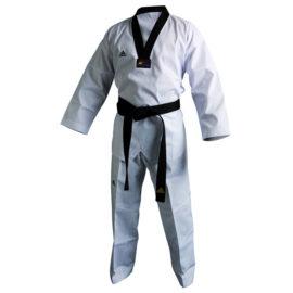 Adidas Taekwondopak Club Zwarte Revers