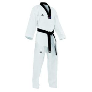 Adidas Taekwondopak Champion II Zwarte Revers