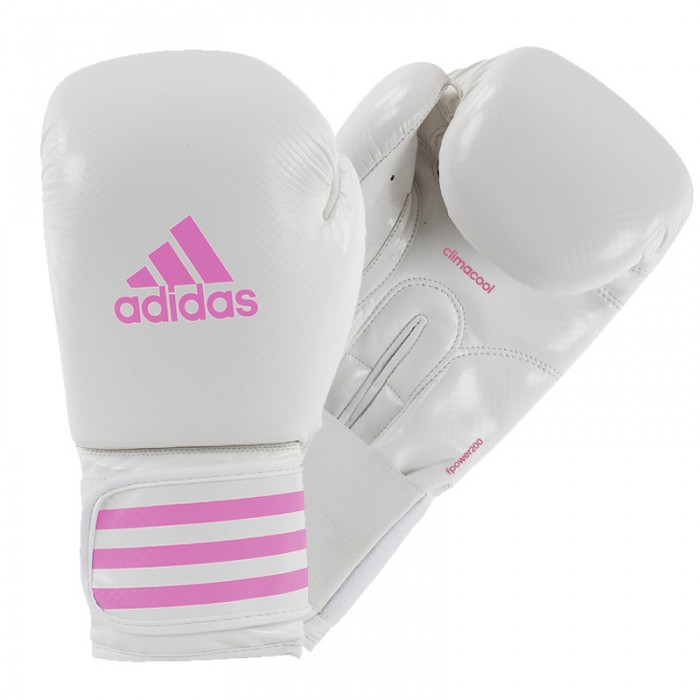 Adidas Female Power 200 (Kick)Bokshandschoenen - Wit/Roze