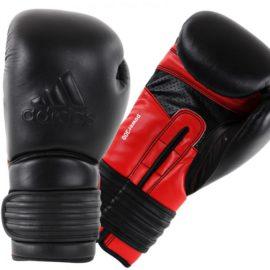 Adidas  Power 300 (Kick)Bokshandschoenen - Zwart/Rood