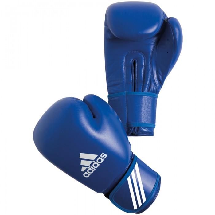 Adidas  AIBA Bokshandschoenen - Blauw